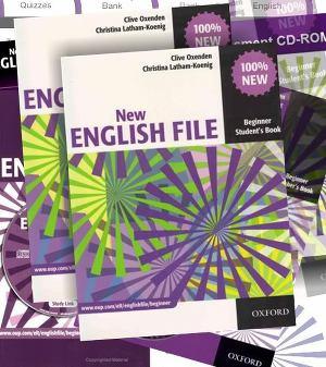 Обзор учебников серии new english file от oxford university press.